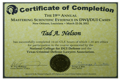 Mastering Scientific DWI Evidence II
