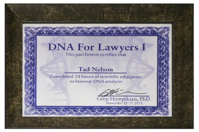 DNA For Lawyers Course
